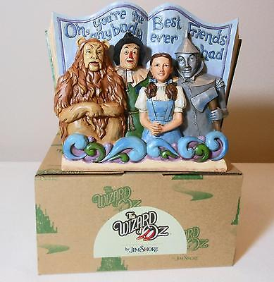 Jim Shore Wizard Of Oz /Warner Bros. 'The Best Friends Ever' #4049681 New In Box
