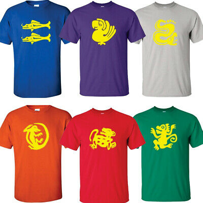 Legends of the Hidden Temple T-Shirts Choose From All 6 Team Colors Costumes