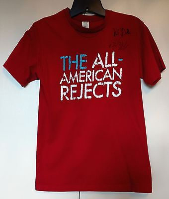 The All American Rejects Autographed Concert Tshirt - Rare - Adult Small - 2006?