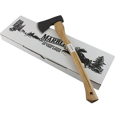 """Marbles 20"""" Hickory Handle Axe Hatchet MR704 High Carbon Stainless Steel Head"""