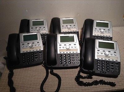 LOT OF 6 CORTELCO 273000-TP2-27E Feature Line Powered 7 Series Phone