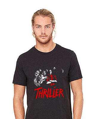 Michael Jackson Themed Unisex Adult Thriller Zombie T-Shirt