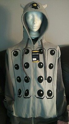 BBC Doctor Who Dalek Gray Hoodie size 2X by Ripple Junction NWT