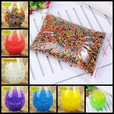 Pearl Shaped Crystal Soil Magic Jelly Balls Water Beads Mud Soft Watergun bullet