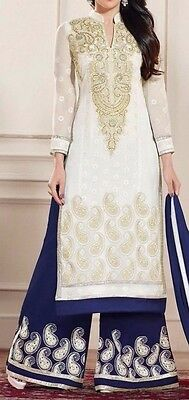 Riaa Stitching Service Designer Kameez - Palazo Suit With Lining