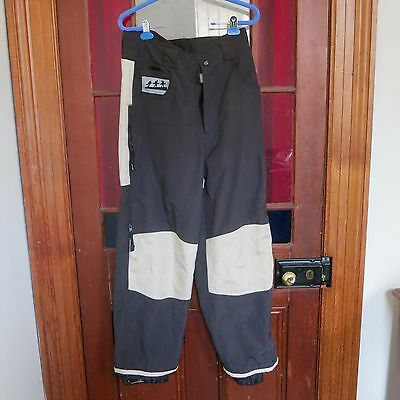 COREXPLORER Size M (or Small) black /beige snowboard ski pants, guc
