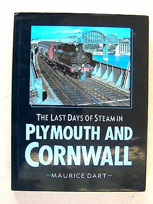"""the Last Days Of Steam In Plymouth And Cornwal.""  Book."
