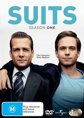 Suits Season One 4-Disc Set Region 4 DVD VGC