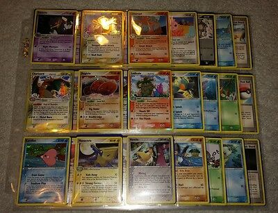 Complete Pokemon EX-Crystal Guardians Base Card Set 1-88 Ultra Rare! Charizard!