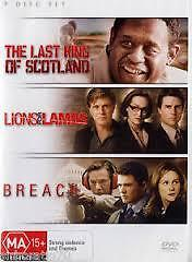 The Last King of Scotland / Lions For Lambs / Breach (DVD, 2008, 3-Disc Set)