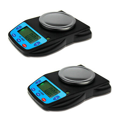 2* Digital 500g x 0.01g Balances Analytical LCD Electronic Scale High Precision