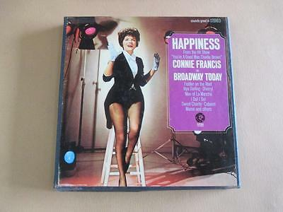 Reel-to-reel tape, stereo, Connie Francis, on Broadway tonight, vintage