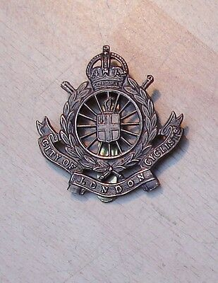 City of London Cyclist cap badge