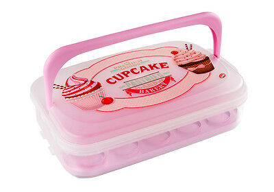 Snips Cupcake Holder/Carrier/Container 7L - Holds 14 Cupcakes/Muffins