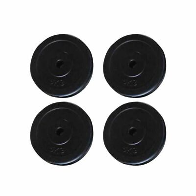 New 4x5 KG Weight Plates Barbell Dumbbell Plate Gym Weights Set Fitness Exercise