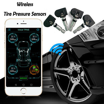 Wireless Bluetooth 4.0 TPMS Car Tire Pressure Monitor System Internal Sensor