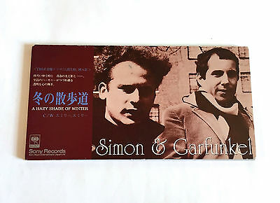SIMON & GARFUNKEL A Hazy Shade Of Winter JAPAN 3inch CD Single 1994 SRDS-8288