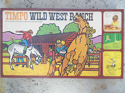 Timpo Toys Wildwest Wild West Ranch OK unused complete Box