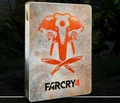 Far Cry 4 Primal Steelbook Case for PC game (not included)  - Brand New/RARE
