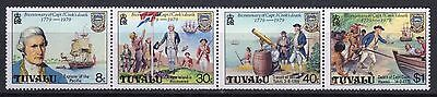 Tuvalu 1978 Captain Cook MNH