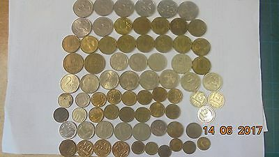 Russian coins as listed