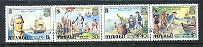 Tuvalu 1979 Captain Cook Used cto