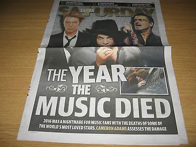The Year The Music Died - David Bowie Prince George Michael