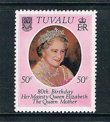Tuvalu 1980 Queen Mother MNH