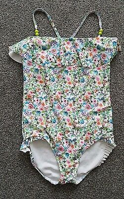 *next* Girls Gorgeous Floral Swimming Costume Age 12 Years