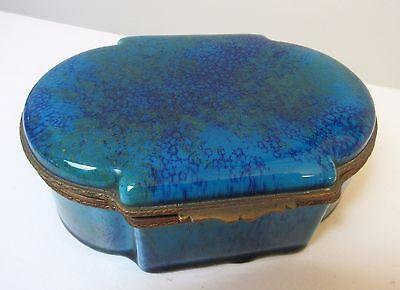Paul Jean Milet French Porcelain Casket Dresser Box Early 19th Century Sevres