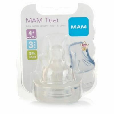 MAM Teat 3 Fast Flow 2 Per Pack 1 2 3 6 12 Packs