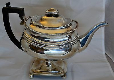 A Stunning and Unusual Georgian Solid Silver Teapot - London 1809 by IT