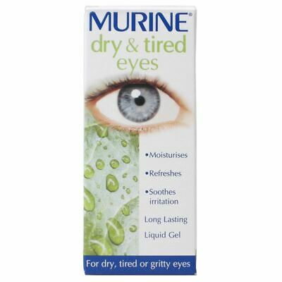 Murine Dry & Tired Eyes 15ml 1 2 3 6 12 Packs