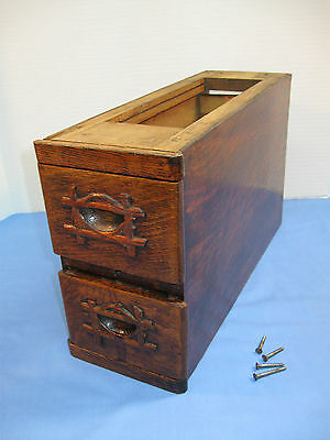 Pair of TREADLE SEWING MACHINE DRAWERS with Frame