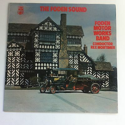 Fodens Motor Works Band - The Foden Sound LP, Brass Band, Rex Mortimer, 1974