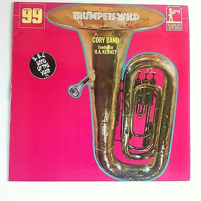 Cory Band - Trumpets Wild LP, Brass Band, H.A, Kenney, Fanfare, 1971