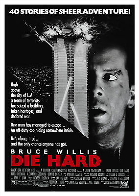 Die Hard (1988) V2 - A2 POSTER **BUY ANY 2 AND GET 1 FREE OFFER**