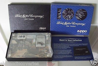 Zippo Lighter Ford 100 Years Heart and Soul Collection 1914 Model T