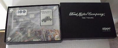 Zippo Lighter Ford 100 Years Heart and Soul Collection 1928 Model A