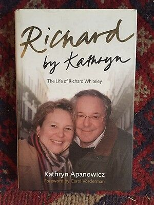 *SIGNED* RICHARD By Kathryn. The Life of Richard Whiteley. 1st Edition.
