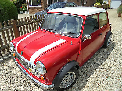 Austin  Mini Mayfair 998cc 1986 Red with White Roof 63,000 miles Not Cooper