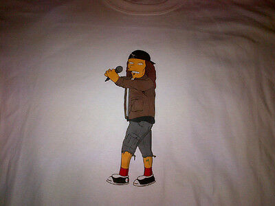 Eddie Vedder SIMPSONS T-Shirt  PEARL JAM