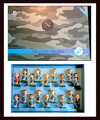 18 Action Figure Societa' Sportiva Calcio Napoli 2013-14 Sport Football Game