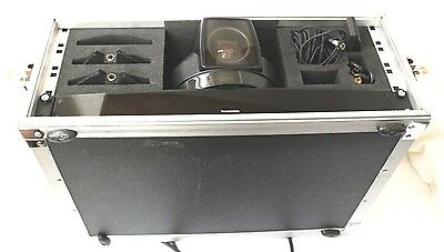 Tandberg 6000 video conference unit with accessories and hard case.
