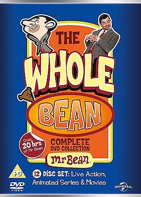 Mr Bean The Whole Bean Complete Collection 12 x DVD Set PAL Region 2 New Sealed