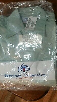 Us Military Surplus Garrison L/s Green Shirt**161/2 X 34/35**new !!