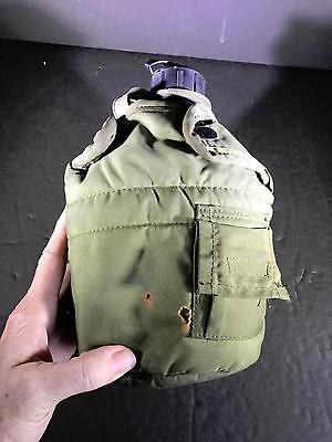 H) Vintage Us Military Canteen Us Army Canteen Insulated Cover