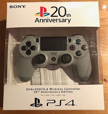 Manette Sony Playstation PS4 20th Anniversary