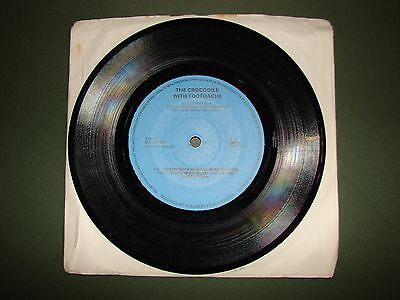 """The Crocodile with Toothache 7"""" Single Vinyl Record Story ME1"""