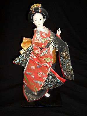 Exquisite Vintage Japanese Geisha Doll